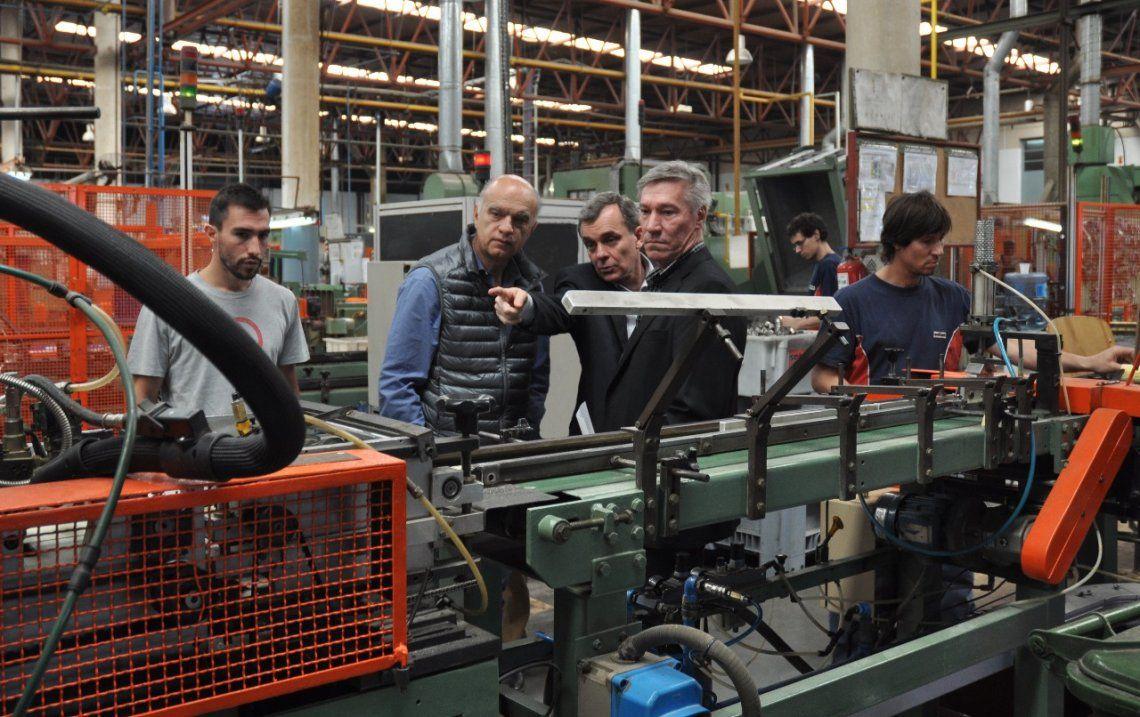 Grindetti anunció medidas para beneficiar a PyMES de Lanús