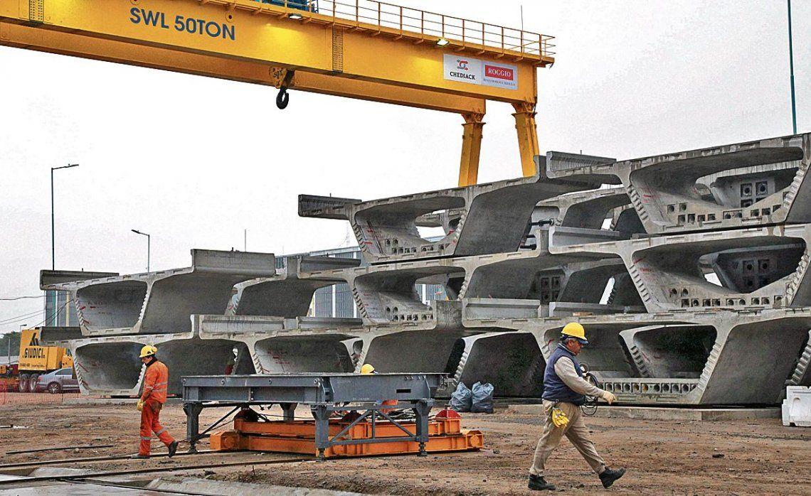 dLa construcción es el sector que motoriza el crecimiento del Producto Bruto durante el primer trimestre del año.