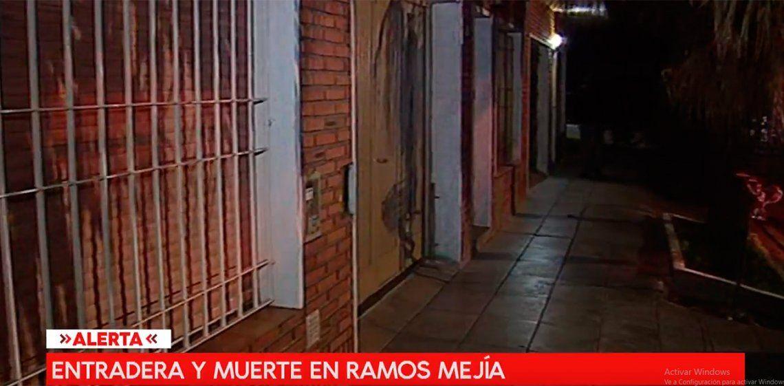 Entradera fatal en Ramos Mejía: un hombre muerto y su amigo herido