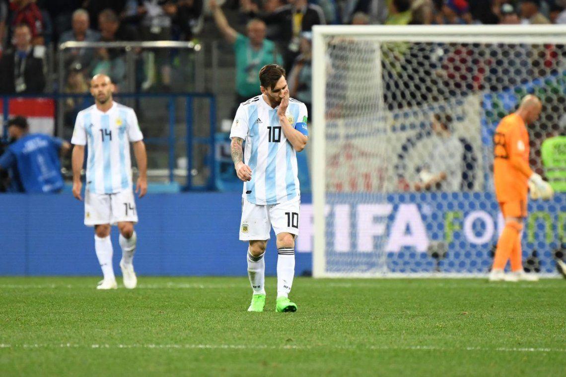 Argentina Fue Goleada Por Croacia Y Quedo Al Borde De La Eliminacion