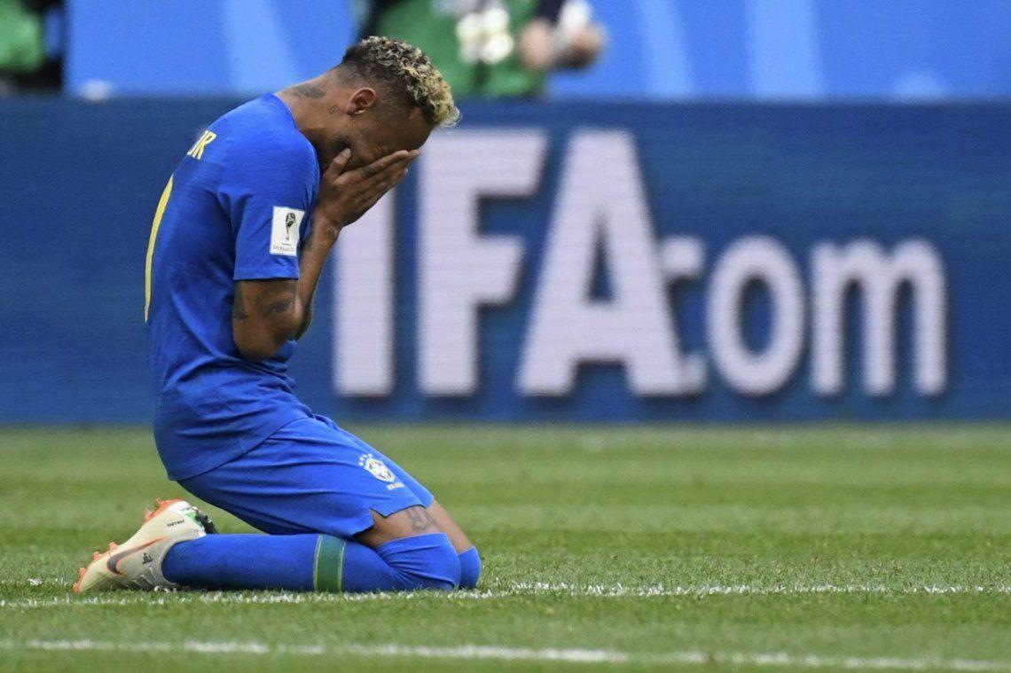 La carta de Neymar para sus amigos en la final del Mundial