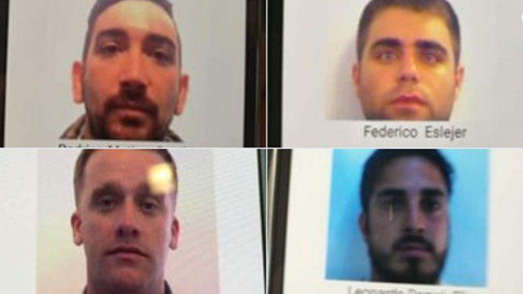 Pidieron la detención de los hinchas argentinos que agredieron al croata
