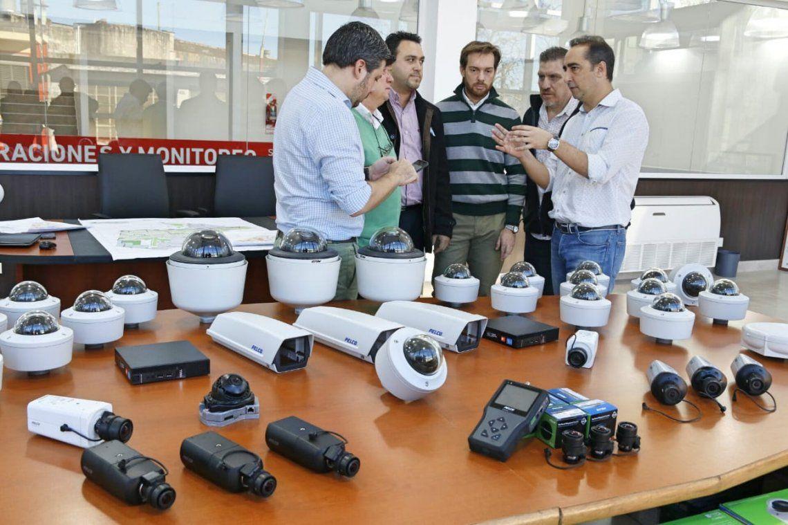 Planifican la instalación de nuevas cámaras de seguridad en Morón