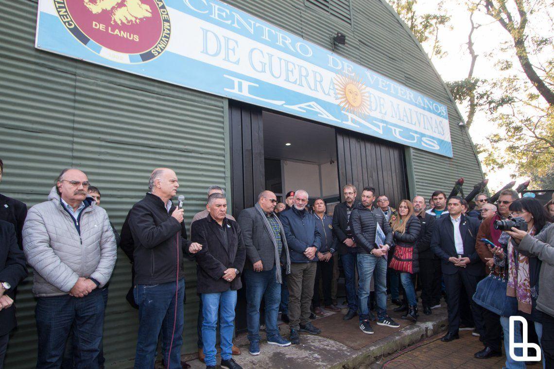 Inauguraron el Museo Histórico Héroes de Malvinas