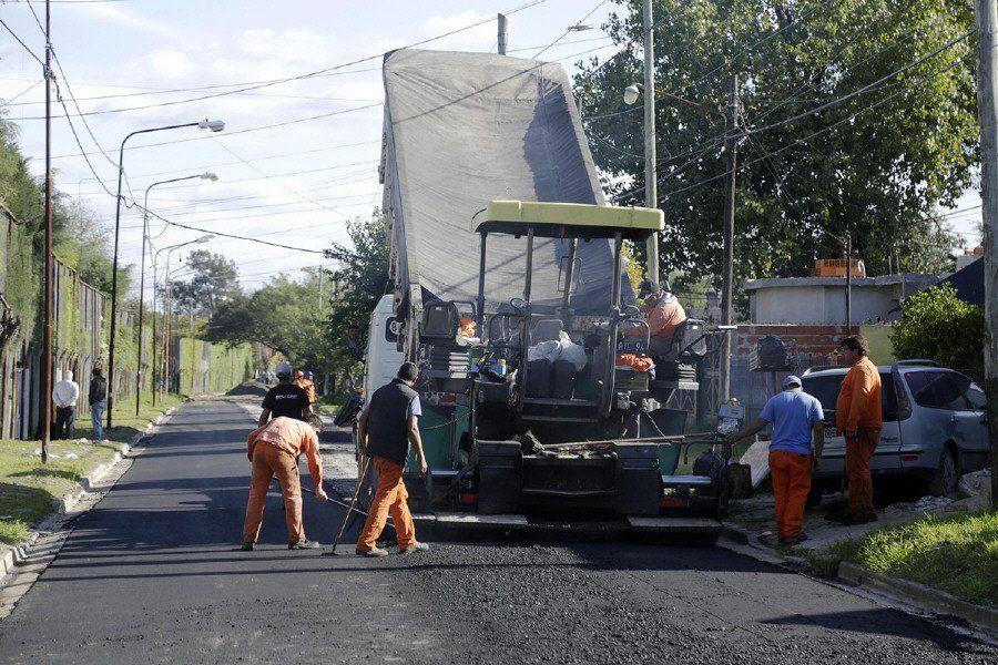 Ambicioso plan de asfalto y mejora de calles en Brown