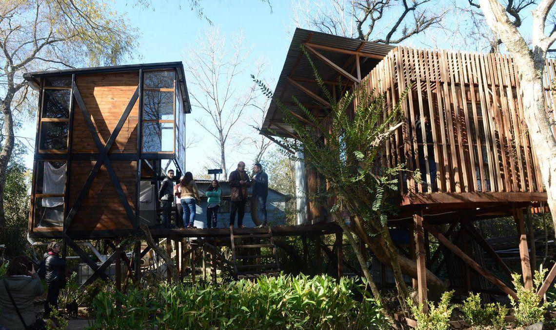Entrega de viviendas sustentables en el Delta