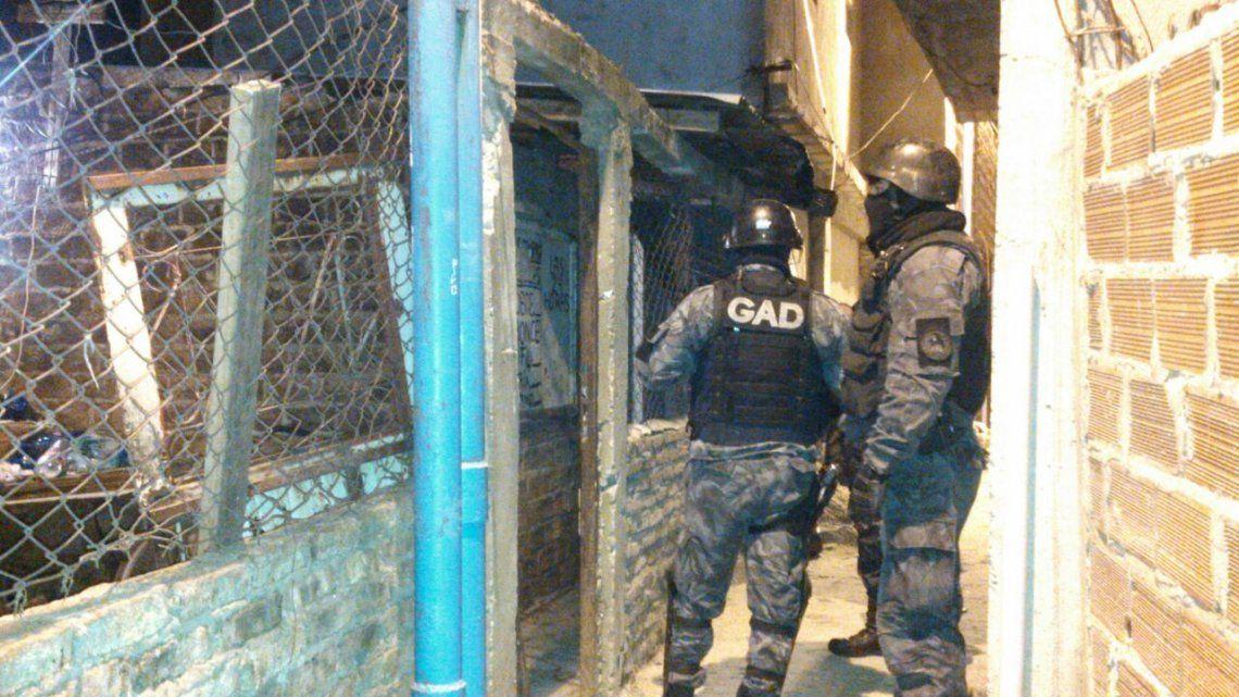 Desarticulan una peligrosa banda narco de Quilmes