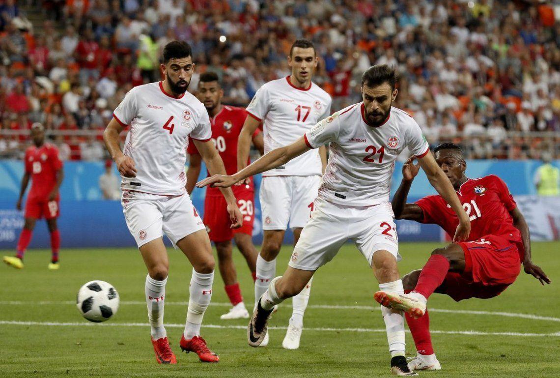 Túnez le ganó a Panamá en la despedida de ambos del Mundial