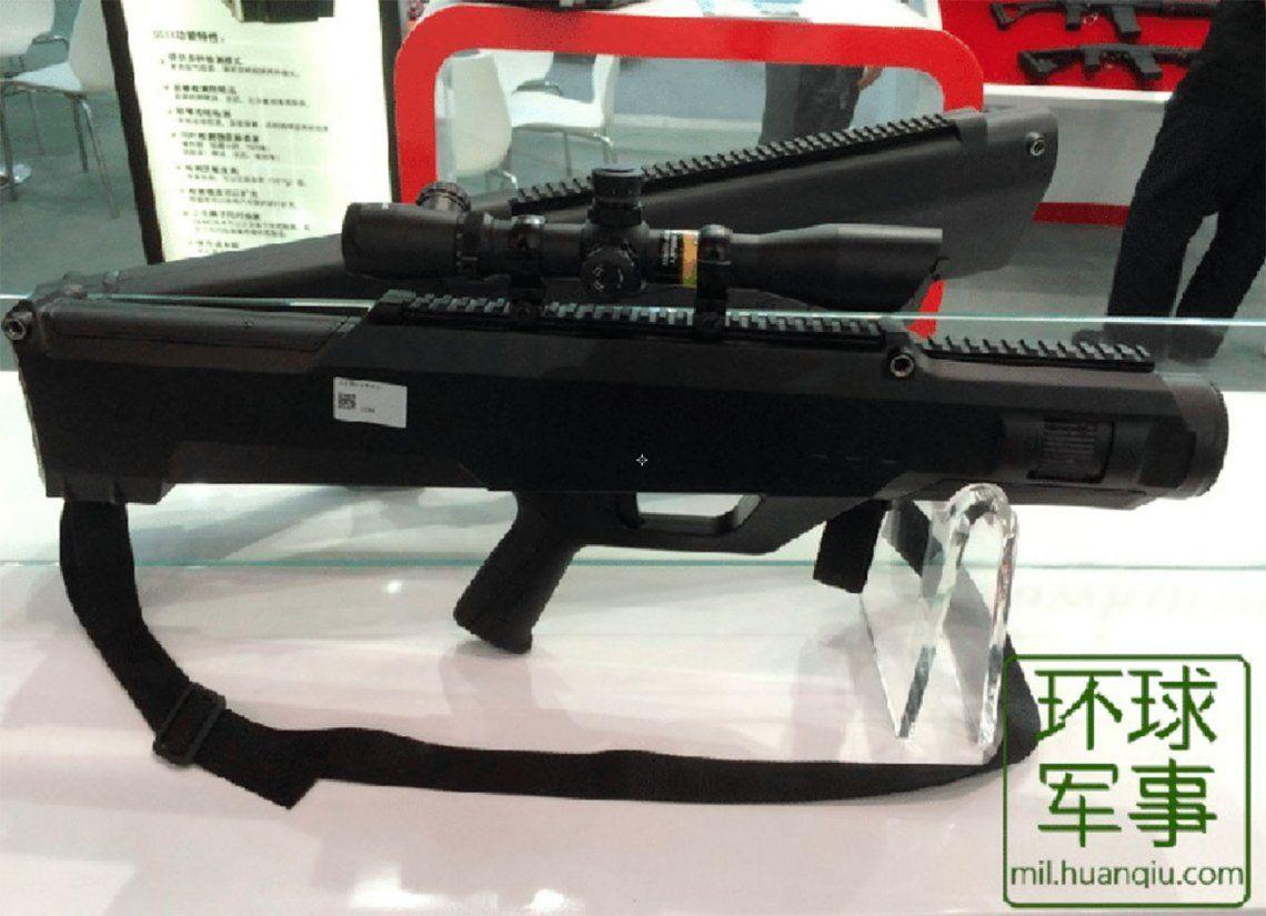 China crea un rifle láser capaz de alcanzar a personas a casi un kilómetro