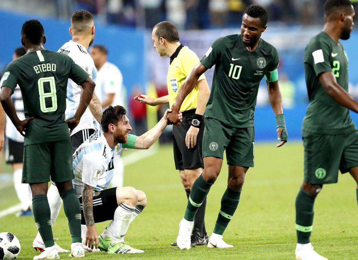 La pesadilla que vivió el capitán de Nigeria cuando jugó contra Argentina