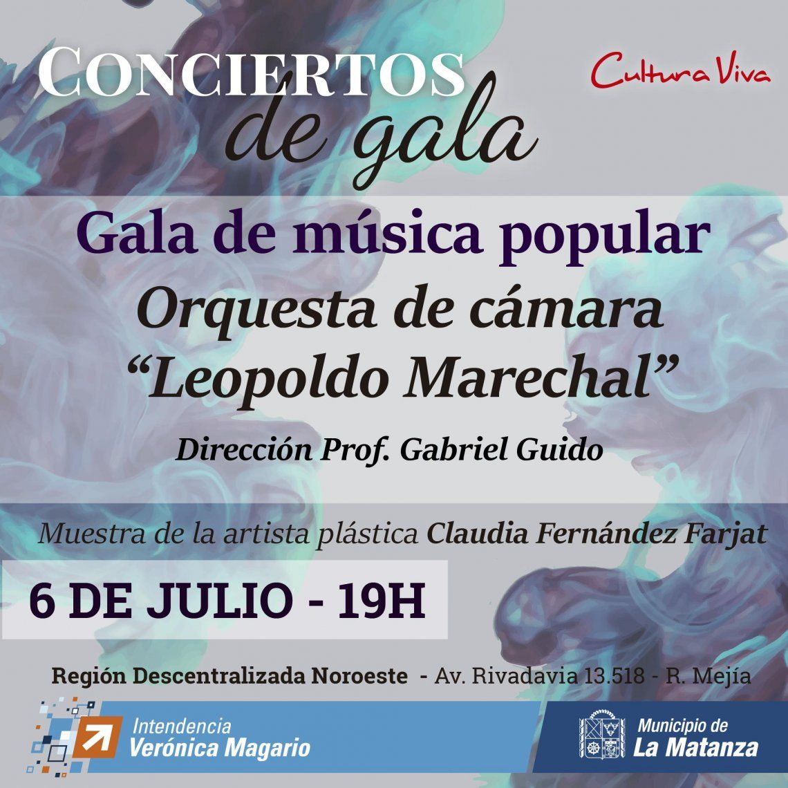 Se presenta la Orquesta de Cámara Leopoldo Marechal en Ramos Mejía