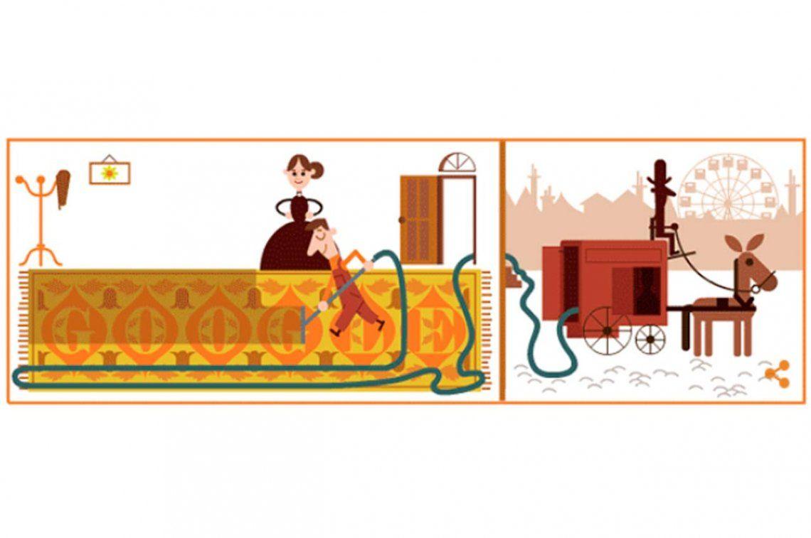 Google celebra el cumpleaños del creador de la primera aspiradora