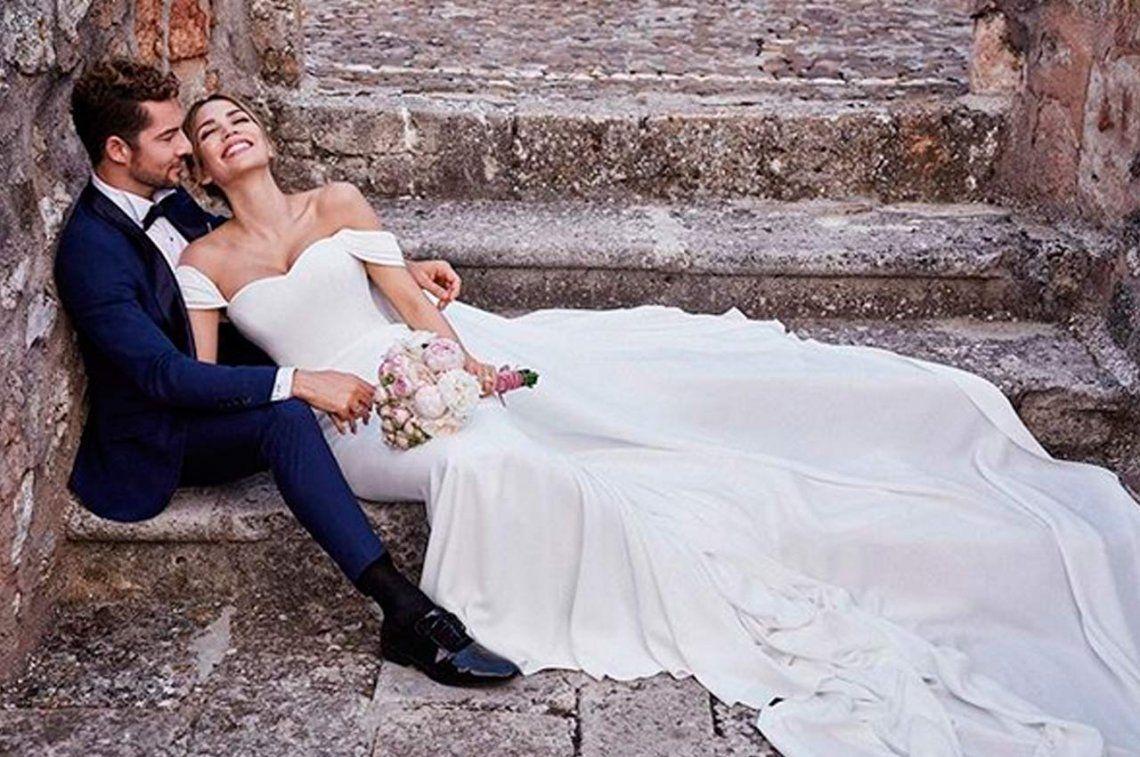 David Bisbal se casó en una boda discreta