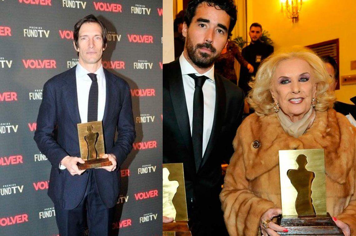 Premios Fund TV: De Pineda, Mirtha y Pancho Ibáñez se fueron con estatuillas