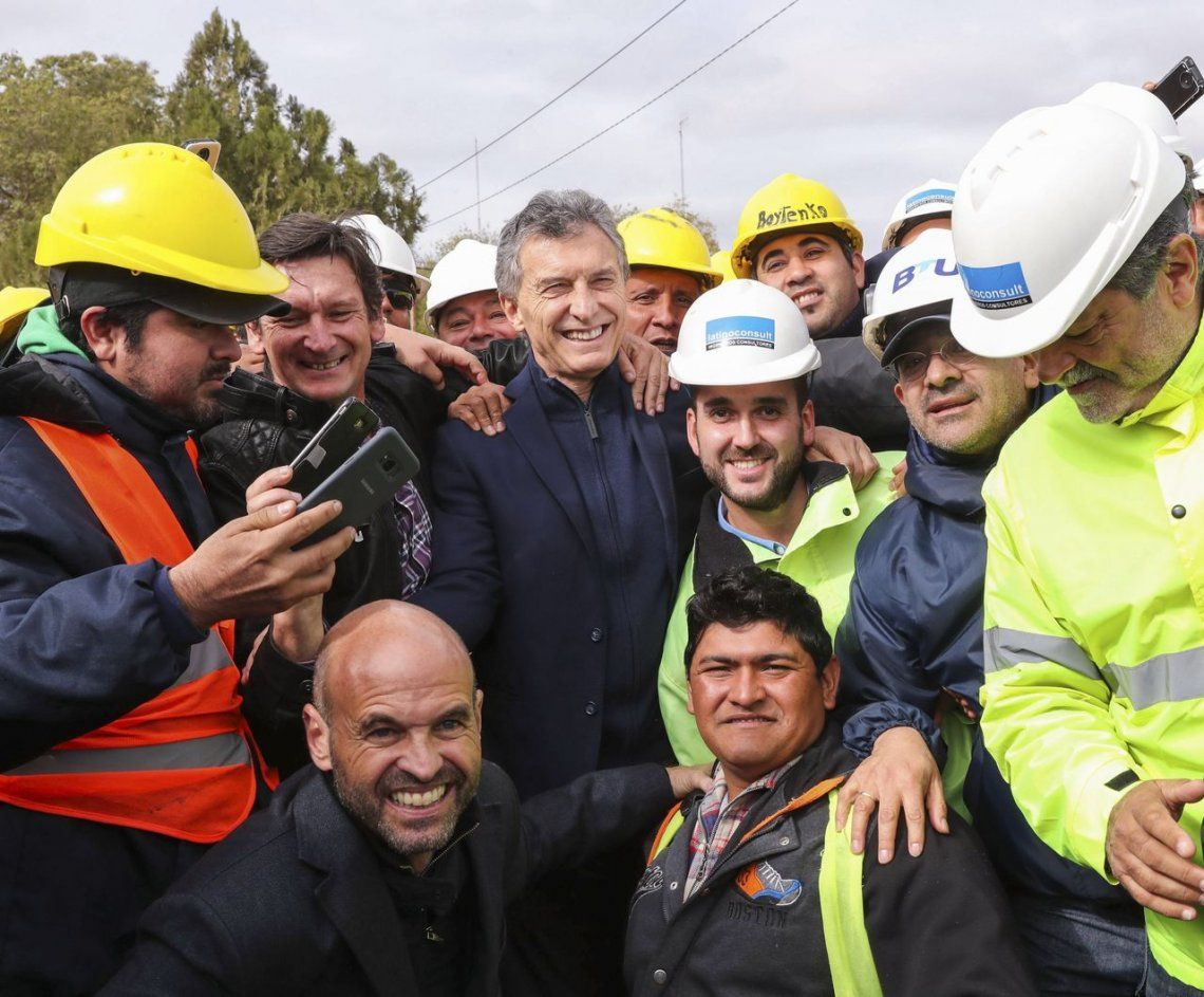 Mauricio Macri: Contra viento y marea lo estamos haciendo bien