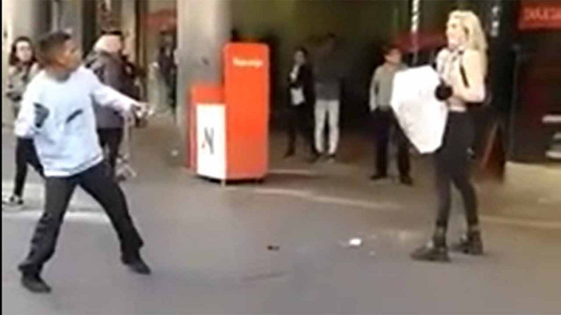Video   Manteros atacaron a piedrazos a dos mujeres trans