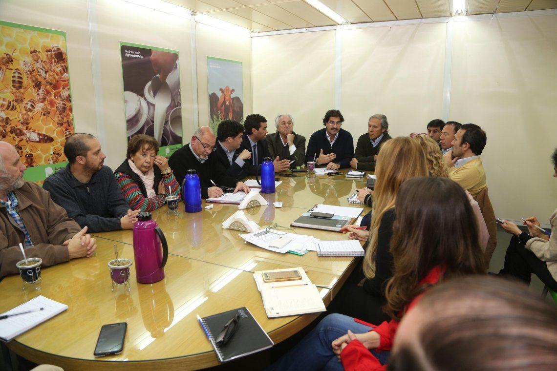 Giorgi llevó reclamos de productores locales al Ministerio de Agroindustria