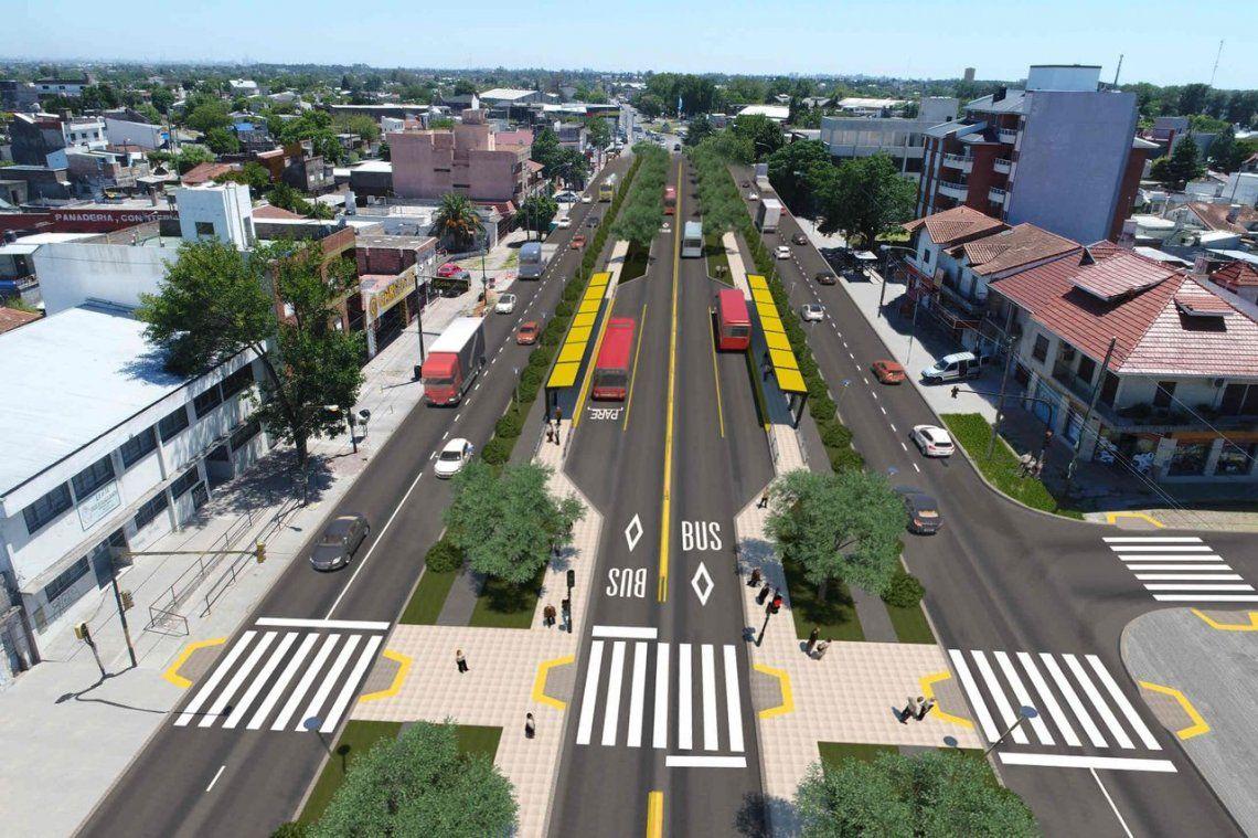 El Metrobus de Florencio Varela ya está más cerca