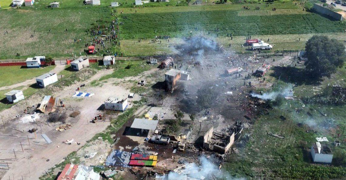 Al menos 24 muertos por una explosión en polvorín en México