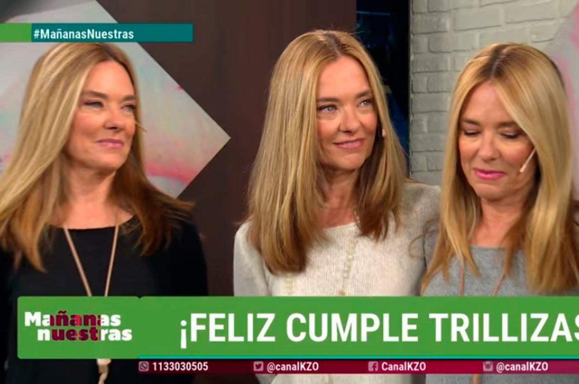 La Trilliza María Eugenia volvió a la TV y habló sobre la muerte de su hija