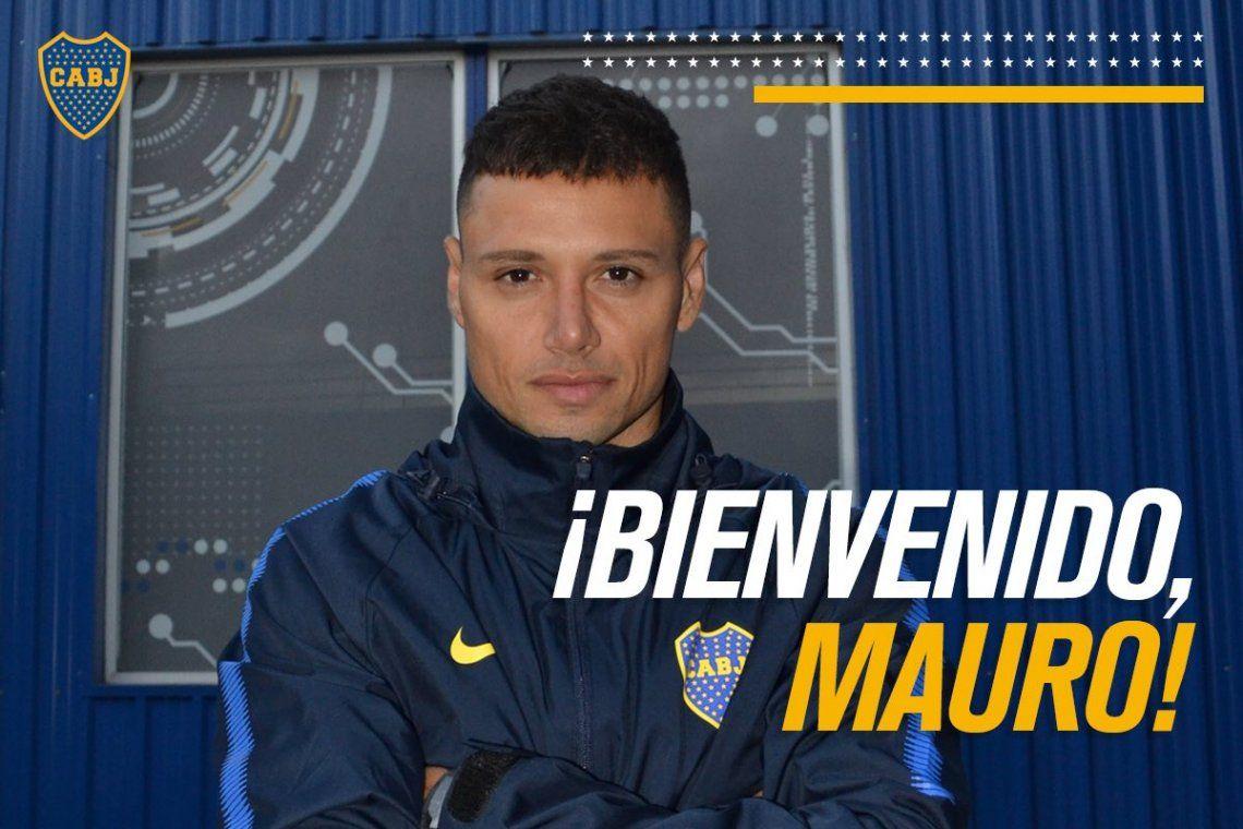 Boca presentó a sus dos refuerzos de lujo: Mauro Zárate y Carlos Izquierdoz