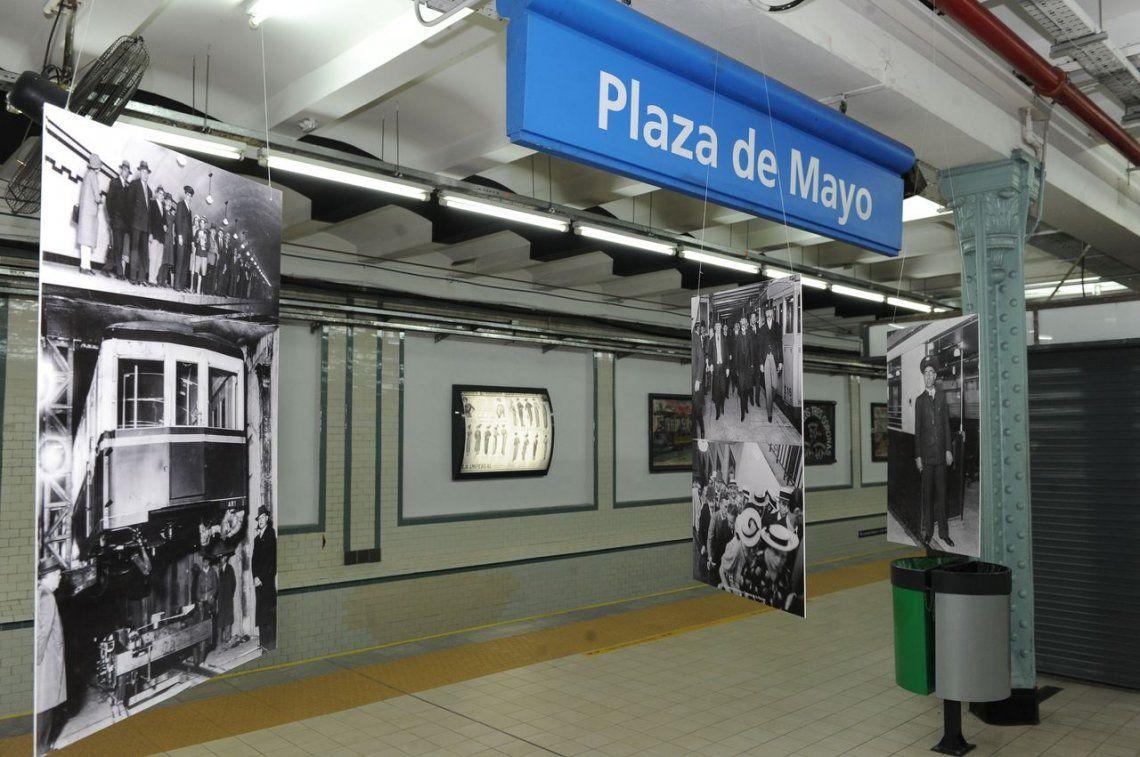 Subte: cierran la estación Plaza de Mayo durante tres meses