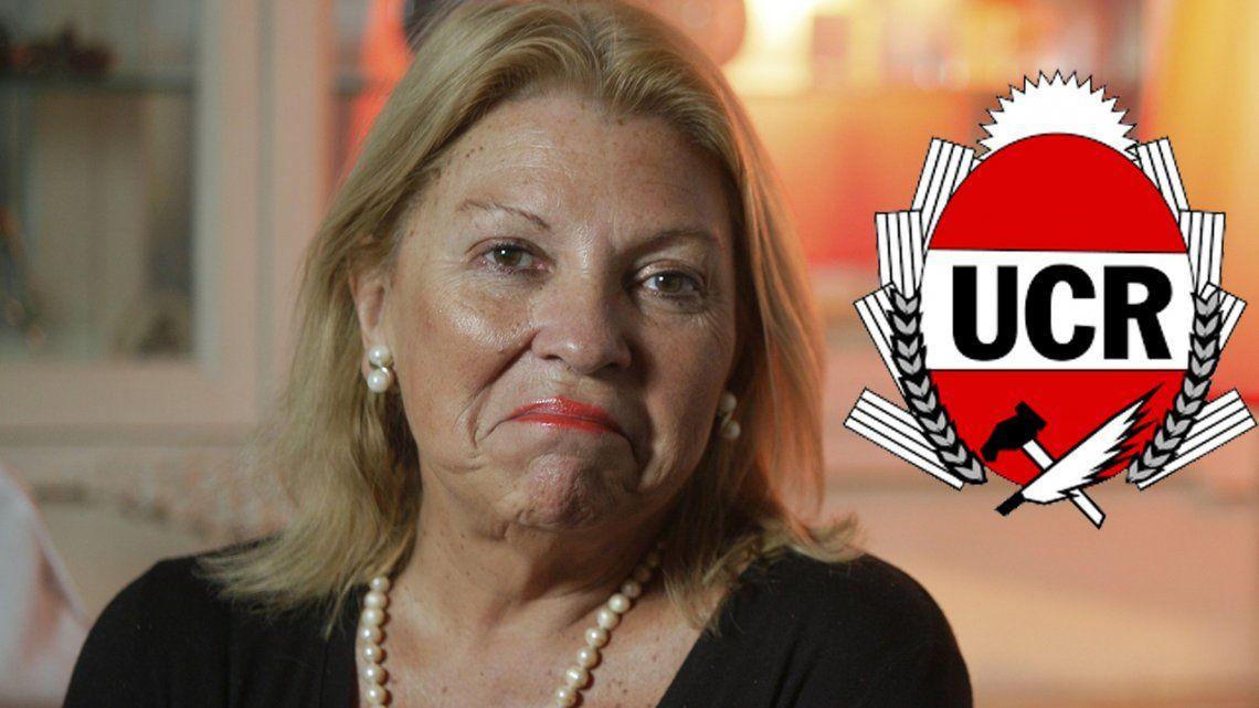 La grieta de Cambiemos: duelo de chicanas entre Carrió y la UCR