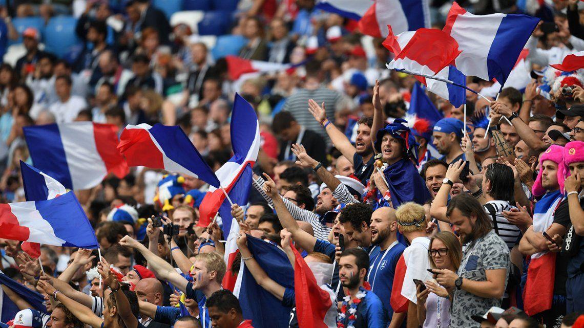 Las mejores fotos de los cruces de Cuartos del Mundial de Rusia 2018