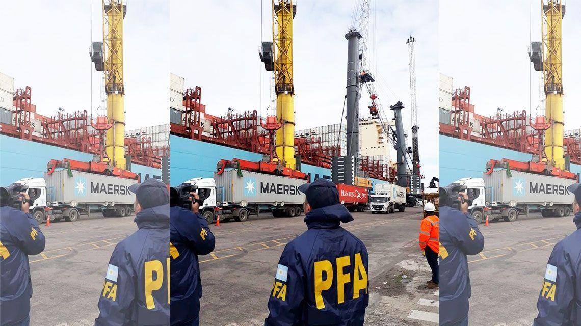 Mafia de los contenedores: nuevos allanamientos en terminales portuarias