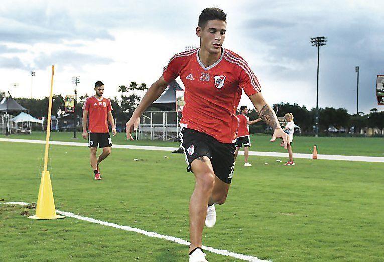 dMartínez Quarta jugó poco en el semestre pasado y busca tener su oportunidad como titular.
