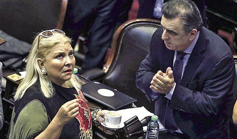 dCarrió encuentra en Negri a un radical con quien mantiene un fluido diálogo.
