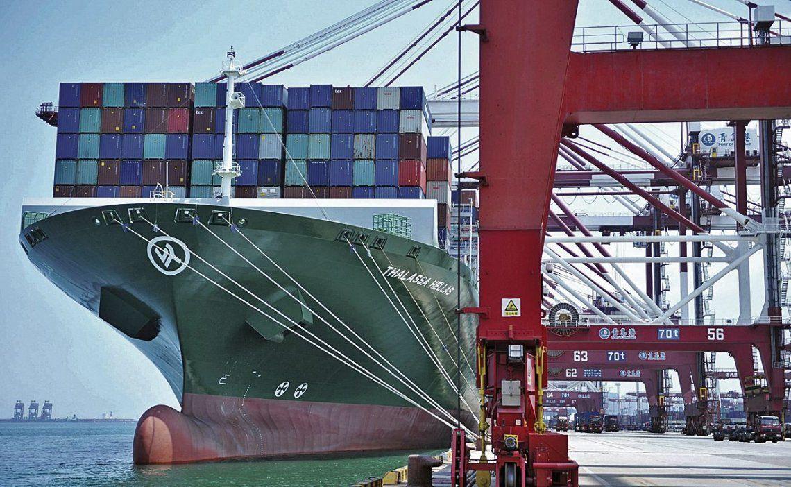 dEstados Unidos aumentó los aranceles a las importaciones chinas.
