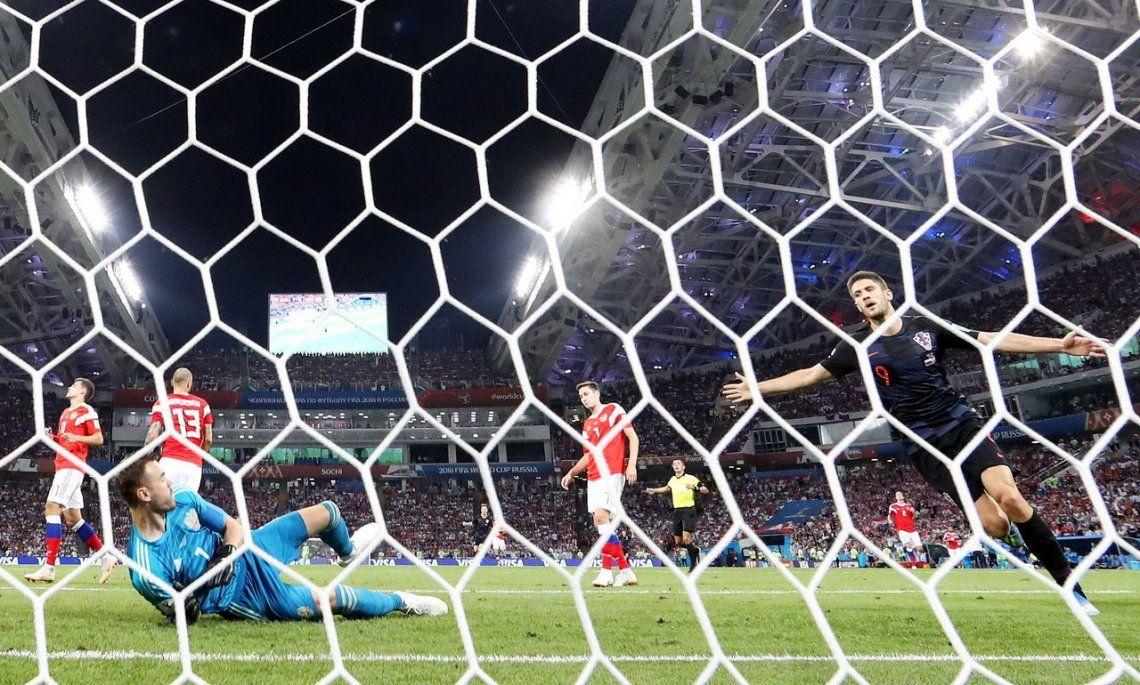 Croacia eliminó a Rusia en los penales y será rival de Inglaterra