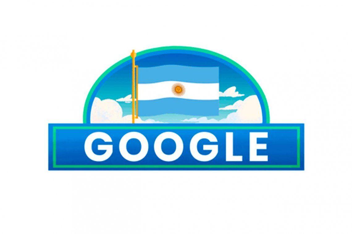 Google se une a la celebración de la Independencia de Argentina