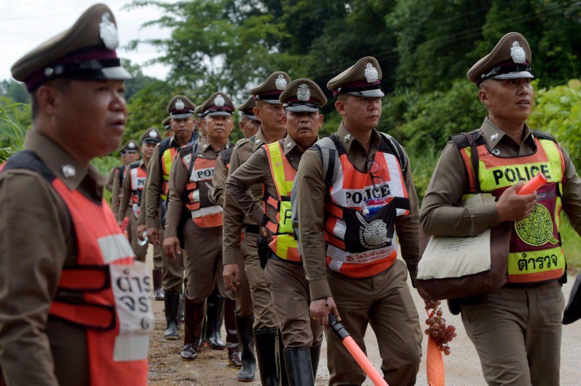 Tailandia: ya rescataron a todos los niños y a su entrenador