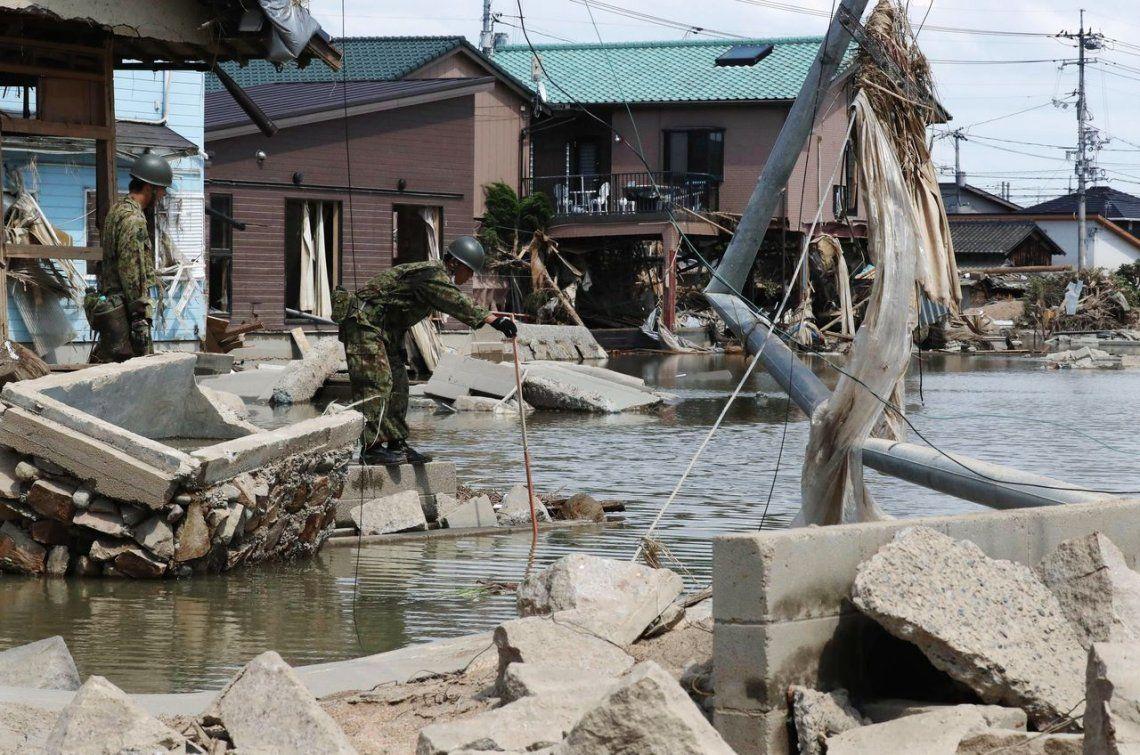 Japón: más de un centenar de muertos en las peores lluvias en décadas