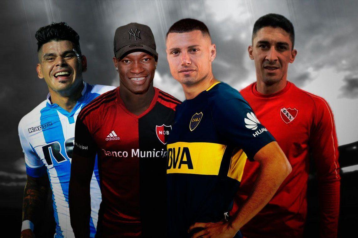 Mercado de pases: quiénes llegan y quiénes se van en el fútbol argentino de Primera División