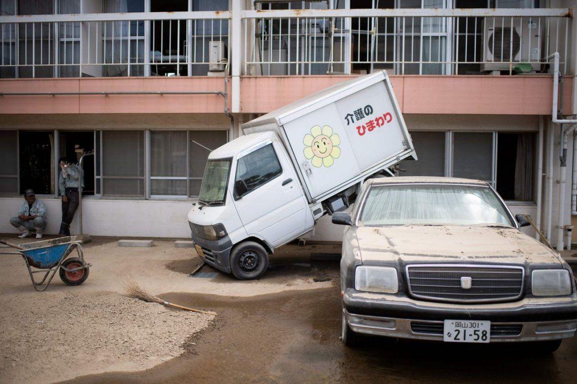 Las fotos de las terribles inundaciones en Japón