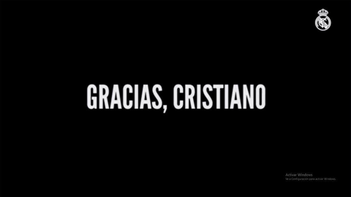 Gracias, Cristiano, el video furor que le hizo Real Madrid