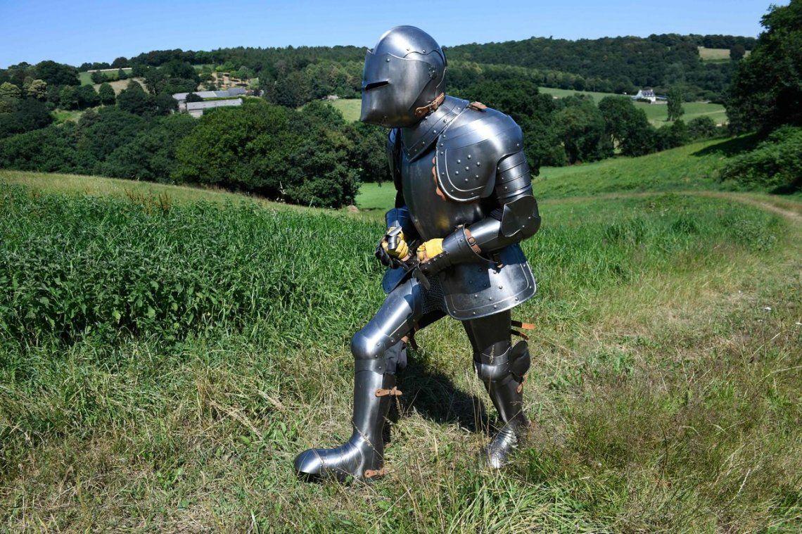 Caballero errante: 170 kilómetros con armadura