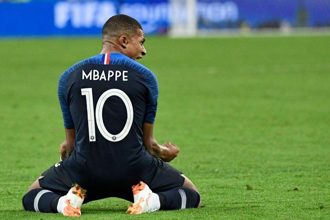 Para Maradona, Mbappé es la revelación del Mundial
