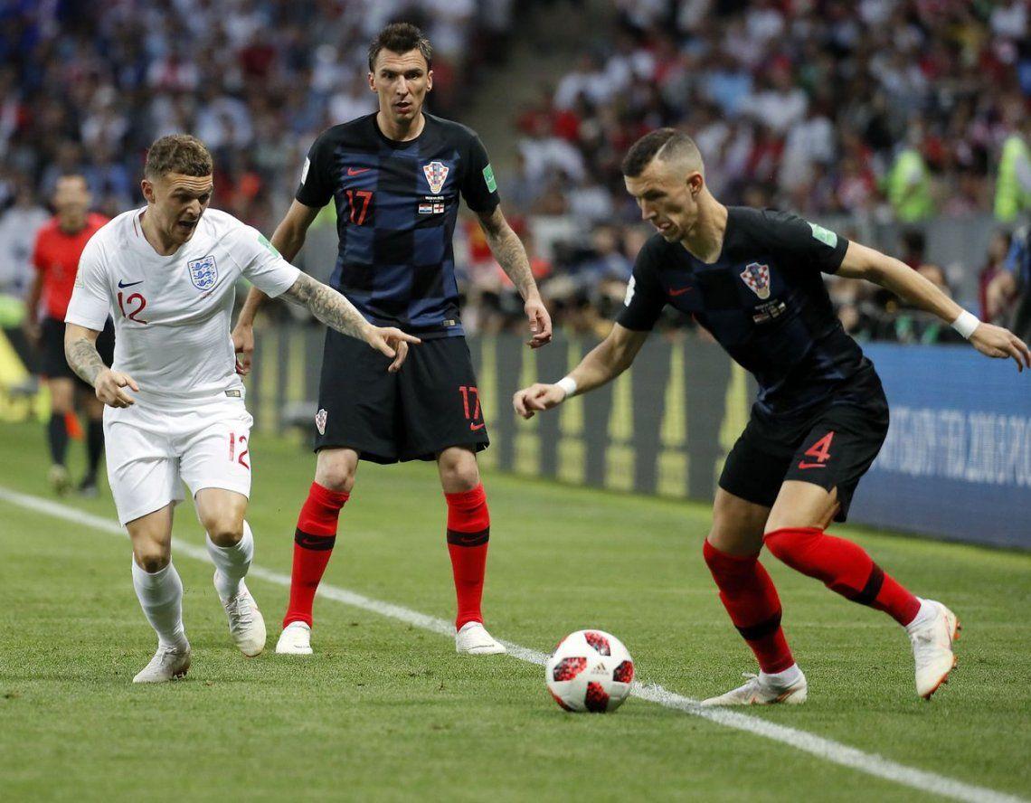 Croacia derrotó a Inglaterra en el alargue y jugará la final ante Francia