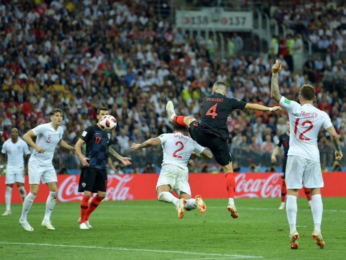 Las mejores fotos del triunfo de Croacia ante Inglaterra