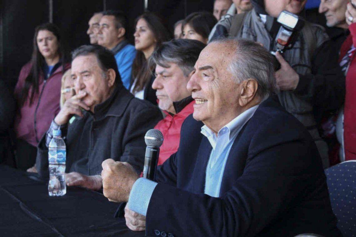 Comercio: Cavalieri hizo la asamblea tras un aval judicial