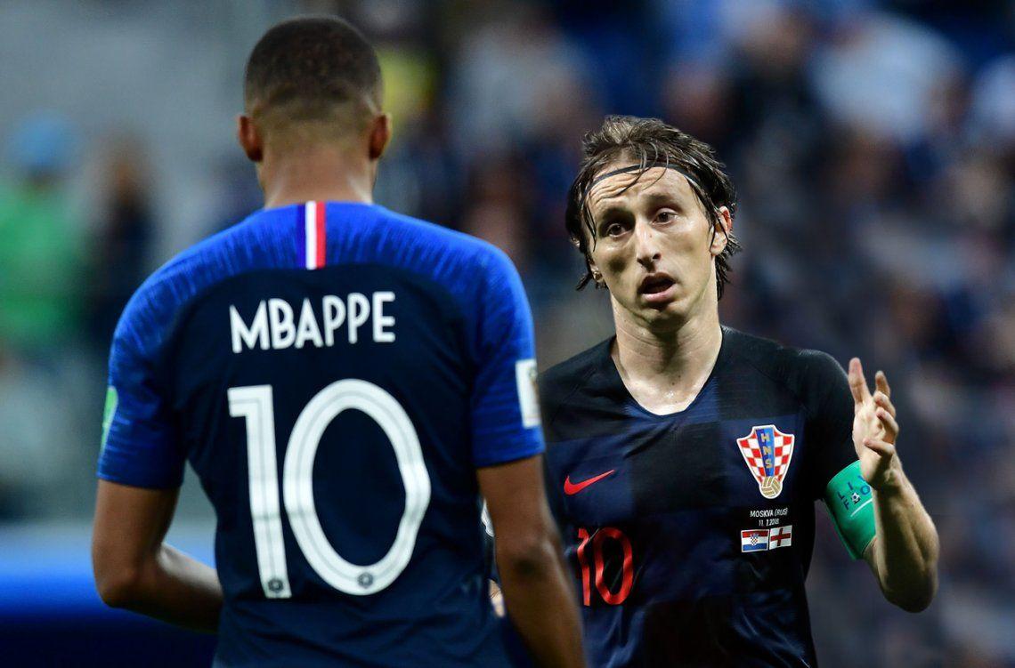 Francia vs. Croacia, la final menos pensada