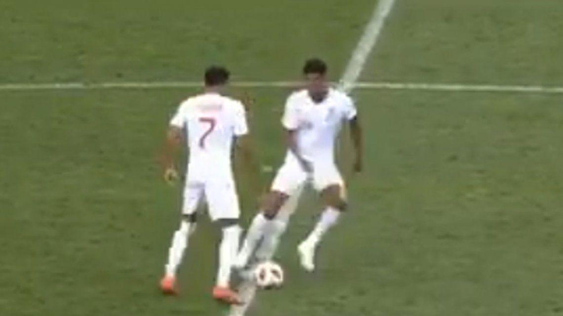 Video | ¡Insólito! Inglaterra intentó marcar un gol durante el festejo de Croacia
