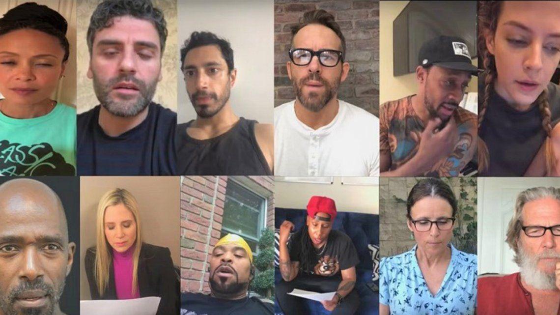 Estados Unidos: celebridades se unen para enfrentar la política migratoria de Trump