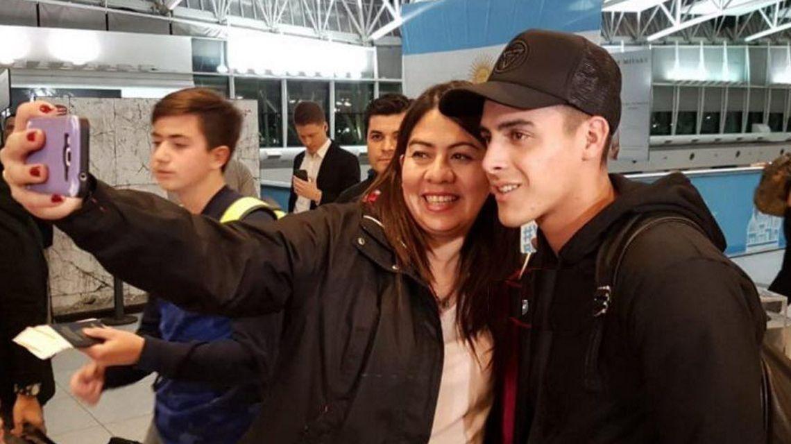 Cristian Pavón: Me voy a quedar a jugar la Copa Libertadores