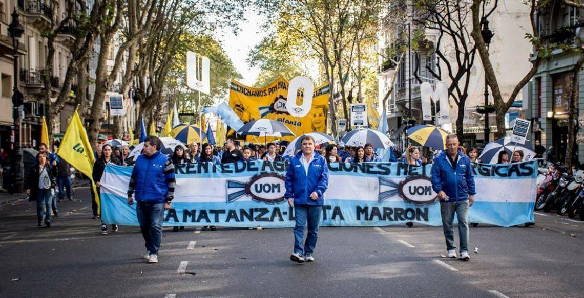 La UOM Matanza convoca a marchar en defensa de la industria nacional