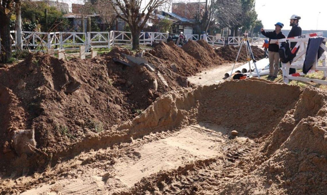 Morón: avanza obra de cloacas para más de 13 mil vecinos